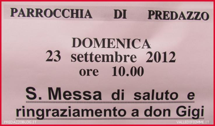 avviso messa saluto don gigi Don Luigi Giovannini   Parroco dal 2004 al 2012