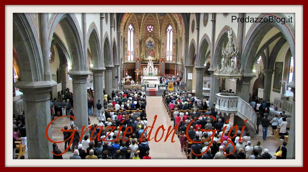chiesa per don gigi predazzo 23.9.12 1024x572 Don Luigi Giovannini   Parroco dal 2004 al 2012
