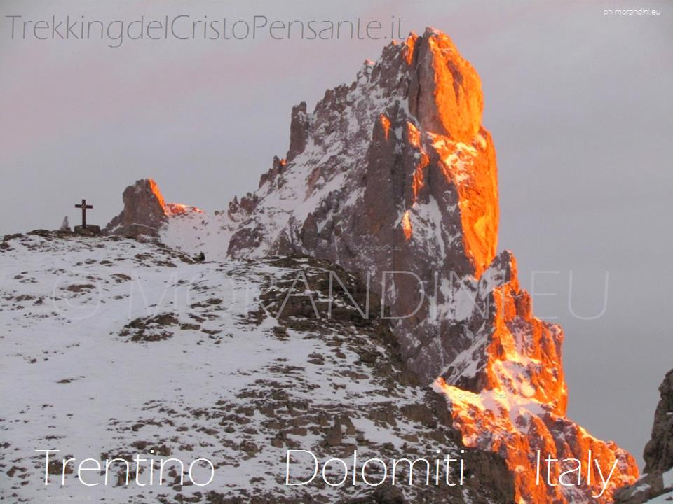 cristo pensante dolomiti by morandini predazzo blog In 25 mila al Cristo Pensante delle Dolomiti. Avviata la sistemazione ambientale