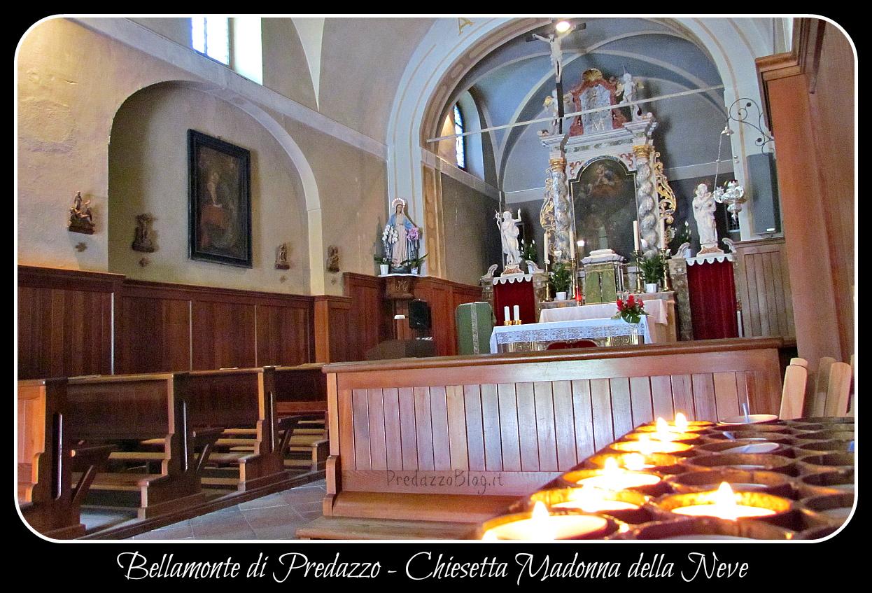 chiesa bellamonte 1 interno by predazzo blog Predazzo, avvisi della Parrocchia dal 25 maggio al 1 giugno