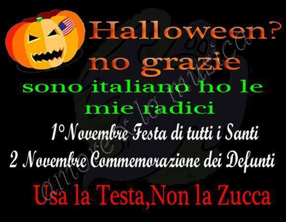 halloween no grazie usa la testa non la zucca1 Halloween, la trappola dellocculto   Video
