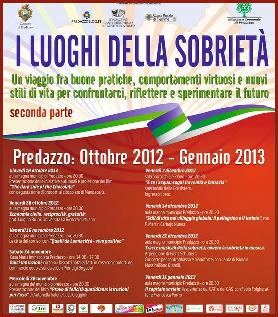 luoghi sobrieta autunno 2012 predazzo blog Predazzo, i Luoghi della Sobrietà   seconda parte