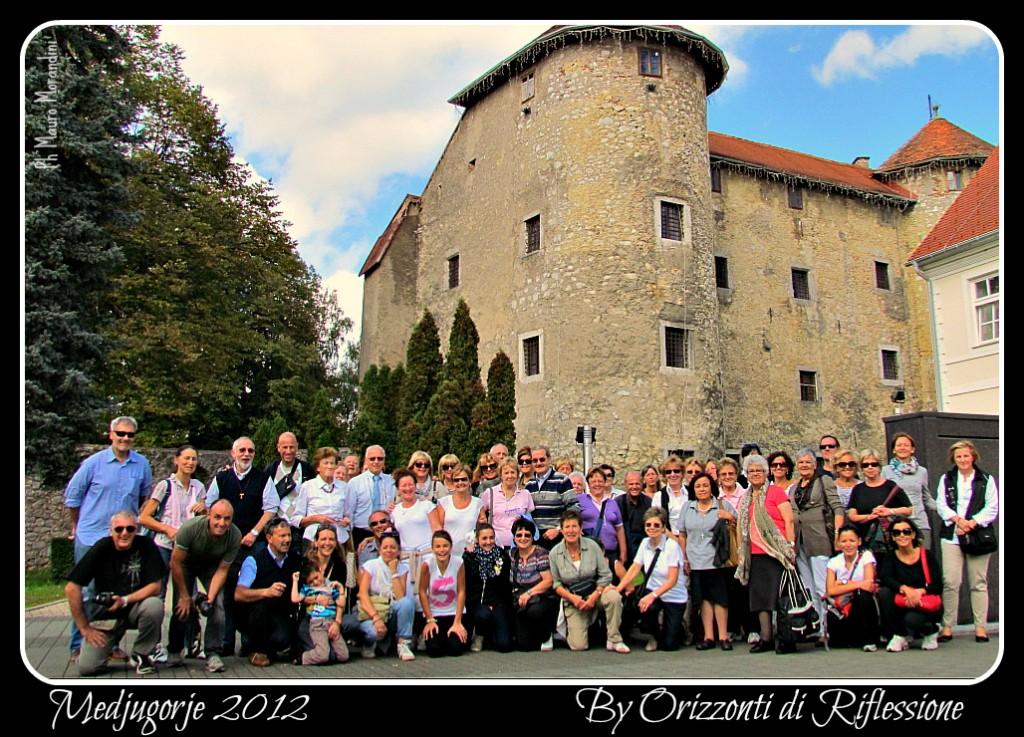 medjugorie 2012 foto di gruppo al ritorno 1024x737 Predazzo   Medjugorje un viaggio di fede e speranza