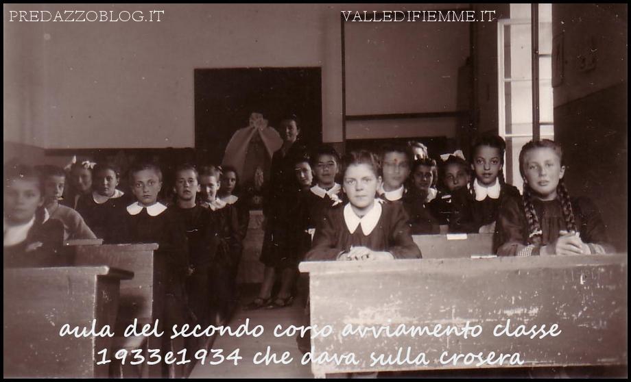 predazzo foto storica scuola avviamento predazzo blog Predazzo, mostra storica della scuola di avviamento