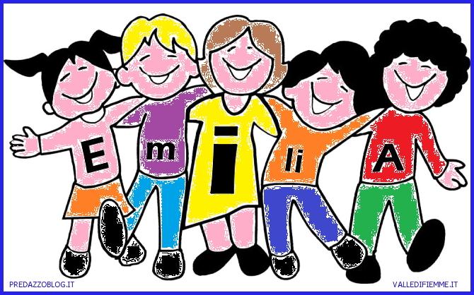 disegno emilia colore predazzo blog La Valle di Fiemme si mobilita per: Una palestra per i bambini di Mirandola