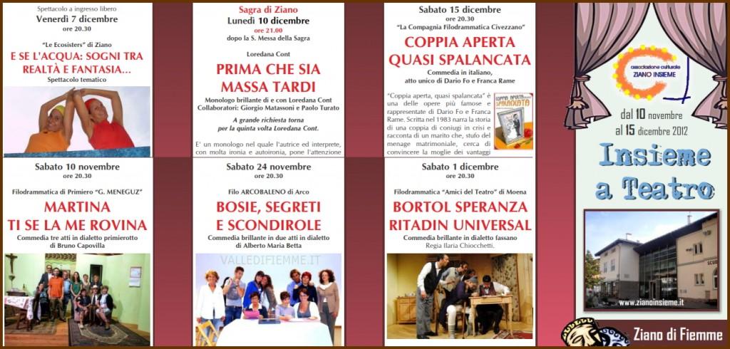 insieme a teatro ziano insieme predazzo blog 1024x490 Ziano, presentazione del libro Storia di Fiemme e programma Insieme a Teatro