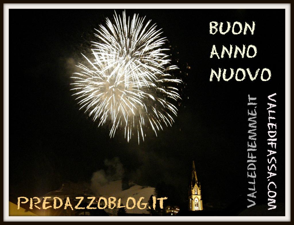 auguri buon anno nuovo predazzo blog Alla mezzanotte di San Silvestro un abbraccio al posto del brindisi