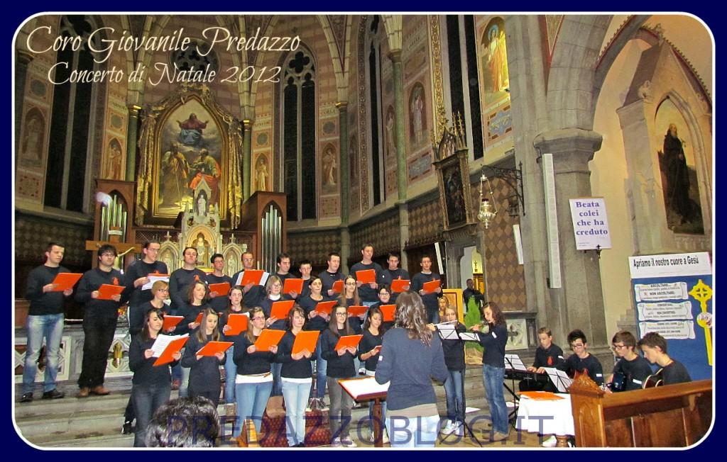 coro giovanile predazzo concerto di natale predazzoblog 1024x652 Predazzo, avvisi della Parrocchia dal 19 al 26 dicembre