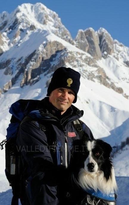 20130106 082655 Nuova sciagura in Valle di Fiemme, due morti sotto la valanga sul Lagorai. Le vittime sono Claudio Ventura e Antonio Gianmoena, entrambi della Valle di Fiemme.