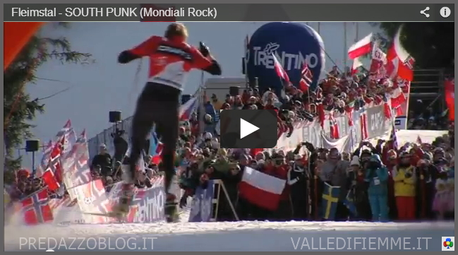 FLEIMSTAL SOUTH PUNK FIEMME 2013 PREDAZZOBLOG Fleimstal   Inno Rock by South Punk per Canta i Mondiali Fiemme 2013   video