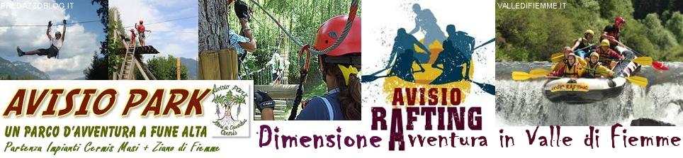 avisio rafting e park ziano masi fiemme1 Vademecum Estate 2014, tutte le iniziative in Valle di Fiemme