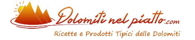 "banner dolomiti nel piatto per blog1 ""TEMPUS FUGIT... Fieri di essere fiera""  28/30 aprile al Palafiemme"