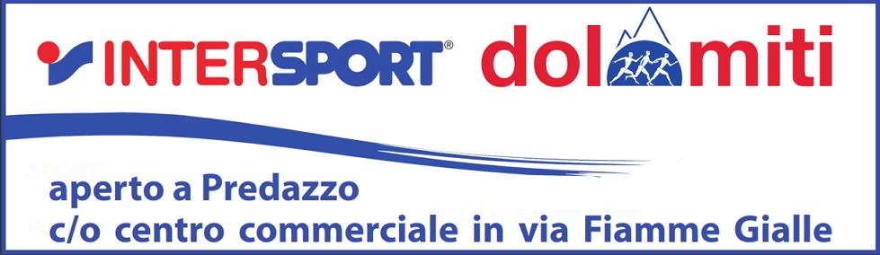 banner intersport dolomiti predazzo sotto articolo Predazzo, nuova apertura Inter Sport Dolomiti
