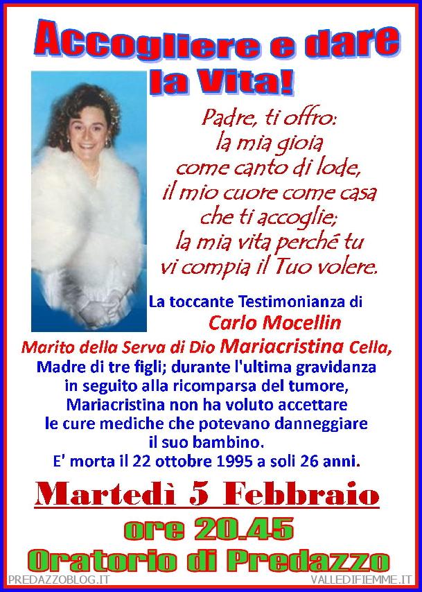 carlo mocellin predazzo blog Predazzo avvisi della Parrocchia dal 3 al 10 febbraio