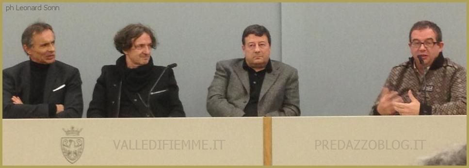 conferenza stampa a trento con goran bregovic ph leonard sonn Inno dei Mondiali Fiemme 2013 di Goran Bregovic: Ascolta la versione ufficiale con i cori  e banda