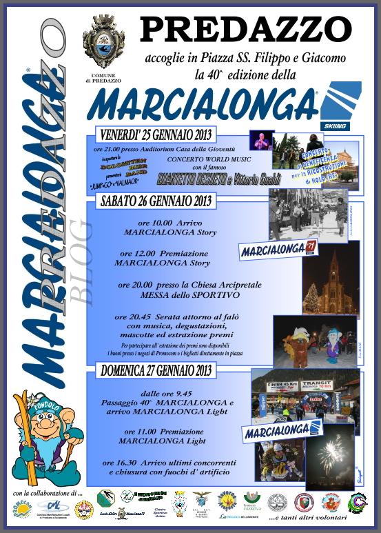 marcialonga 2013 predazzo blog Marcialonga 2013 a Predazzo, le locandine delle iniziative di contorno