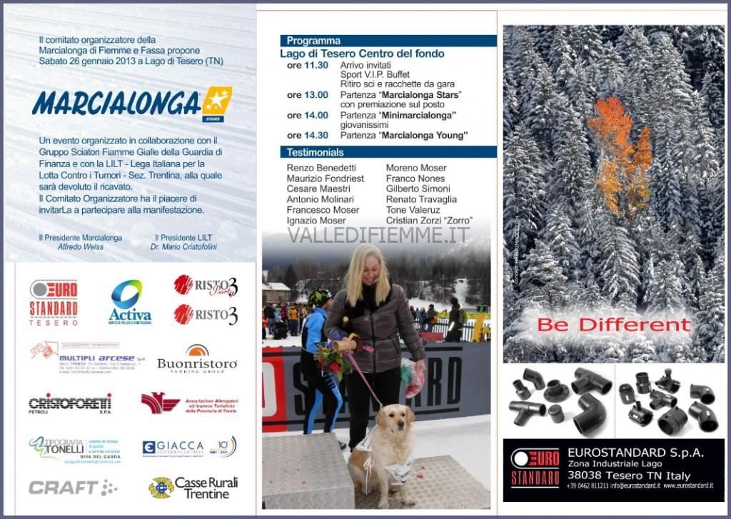 marcialonga stars 2013 1024x727 Fiemme Nordic Walking alla Marcialonga Stars con il Winter N.W.