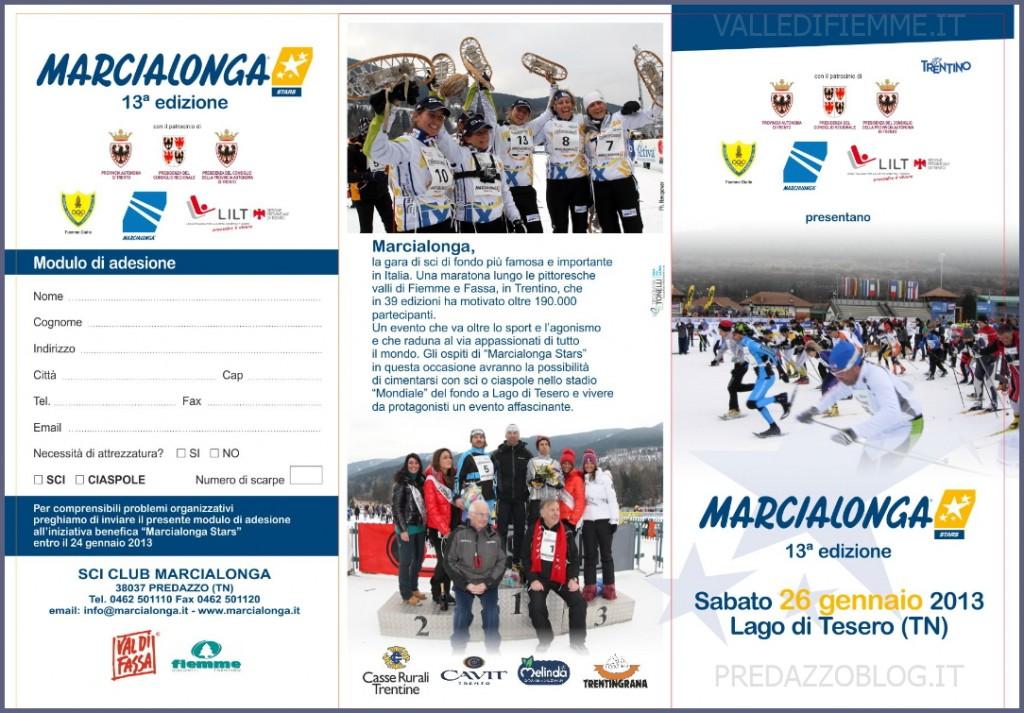 marcialonga stars est 2013 1024x713 Fiemme Nordic Walking alla Marcialonga Stars con il Winter N.W.
