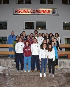 raduno polizia 1 Il gruppo sportivo della Polizia di Stato Fiamme Oro settore Pentathlon Moderno in Piscina a Predazzo