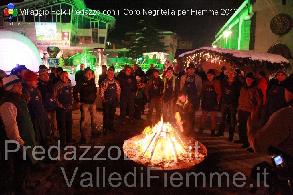 coro negritella predazzo serata mondiali fiemme villaggio folk5 Riapre il Villaggio sotto lAlbero di Predazzo