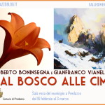 """mostra vianello mondiali fiemme 150x150 """"Dal bosco alle cime"""" la montagna in mostra secondo gli artisti Vianello e Boninsegna"""
