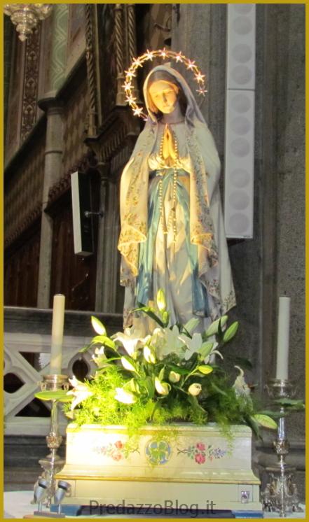 predazzo madonna di lourdes Predazzo, avvisi della Parrocchia dal 10 al 17 febbraio