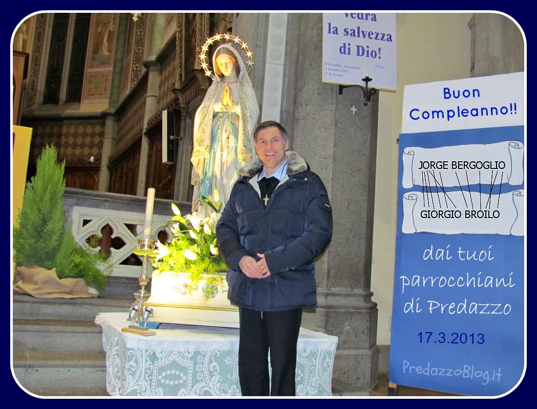 COMPLEANNO DON GIORGIO BROILO predazzo blog Predazzo, avvisi della Parrocchia dal 17 al 24 marzo
