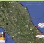 cartina coppia in tandem 7 tappa sicilia calabria puglia predazzo blog 150x150 Pedalata da Catania a Predazzo: La Coppia in Tandem fa tappa a Matera + Aggiornamenti quotidiani