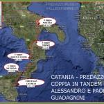 cartina coppia in tandem sicilia calabria puglia predazzo blog 150x150 Pedalata da Catania a Predazzo: La Coppia in Tandem fa tappa a Matera + Aggiornamenti quotidiani