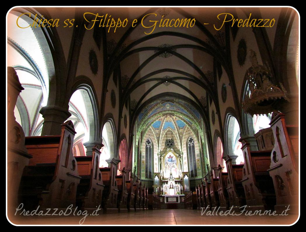 chiesa predazzo interno by mauro morandini