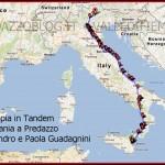 coppia in tandem cartina alessandro e paola guadagnini predazzo blog 150x150 Pedalare in tandem da Catania a Predazzo, 1600 km con Paola e Alessandro Guadagnini