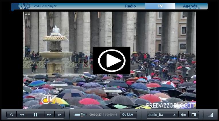 diretta vaticano web cam comignolo streaming piazza san pietro roma player vatican papa Conclave, diretta streaming tv dal Vaticano   la webcam del comignolo e Piazza San Pietro in attesa della fumata bianca
