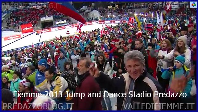 jump and dance stadio salto predazzo fiemme 2013 Nordic Ski Fiemme, Bruno Felicetti al posto di De Godenz