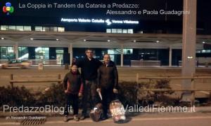 la coppia in tandem da catania a predazzo alessandro e paola guadagnini predazzo blog1 300x180 Pedalare in tandem da Catania a Predazzo, 1600 km con Paola e Alessandro Guadagnini
