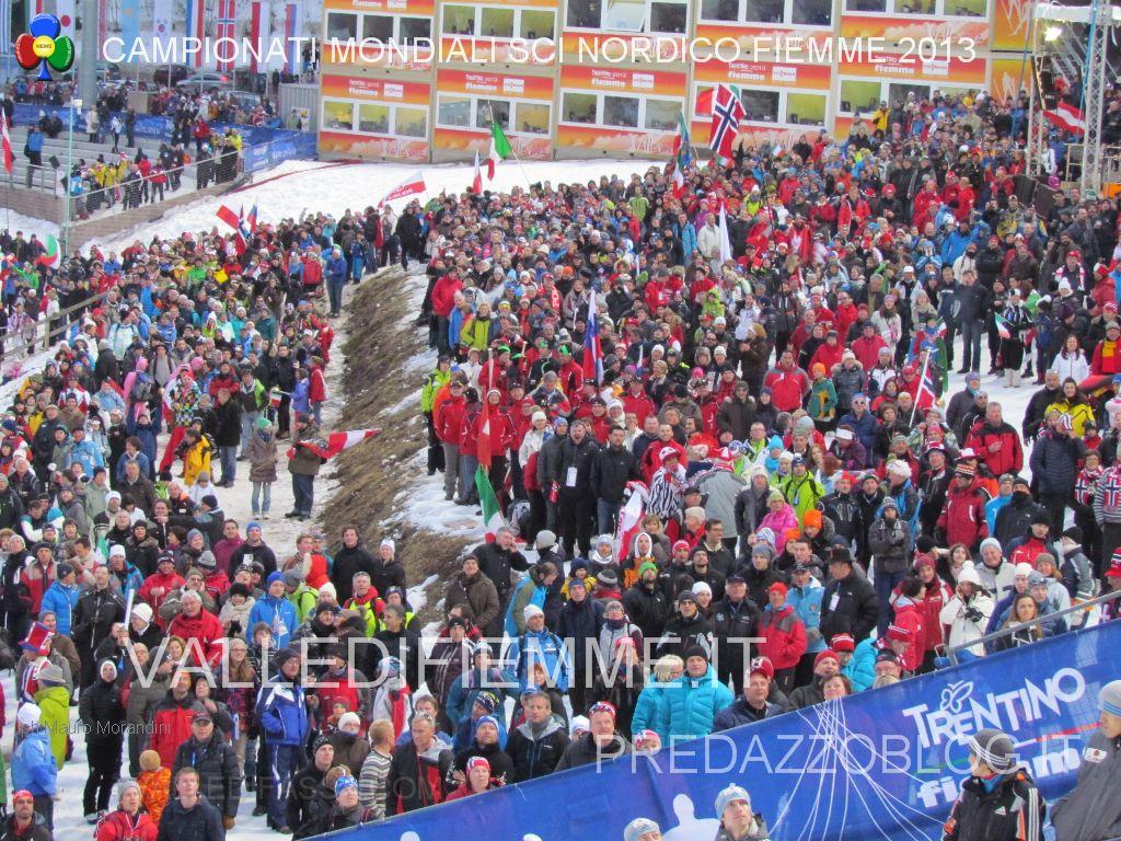 mondiali fiemme 2013 stadio del fondo lago trampolini predazzo by mauro morandini predazzo blog139 Si al nuovo Trampolino, lo Stadio del Salto di Predazzo entra nel futuro