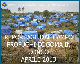 Campo profughi Goma Congo