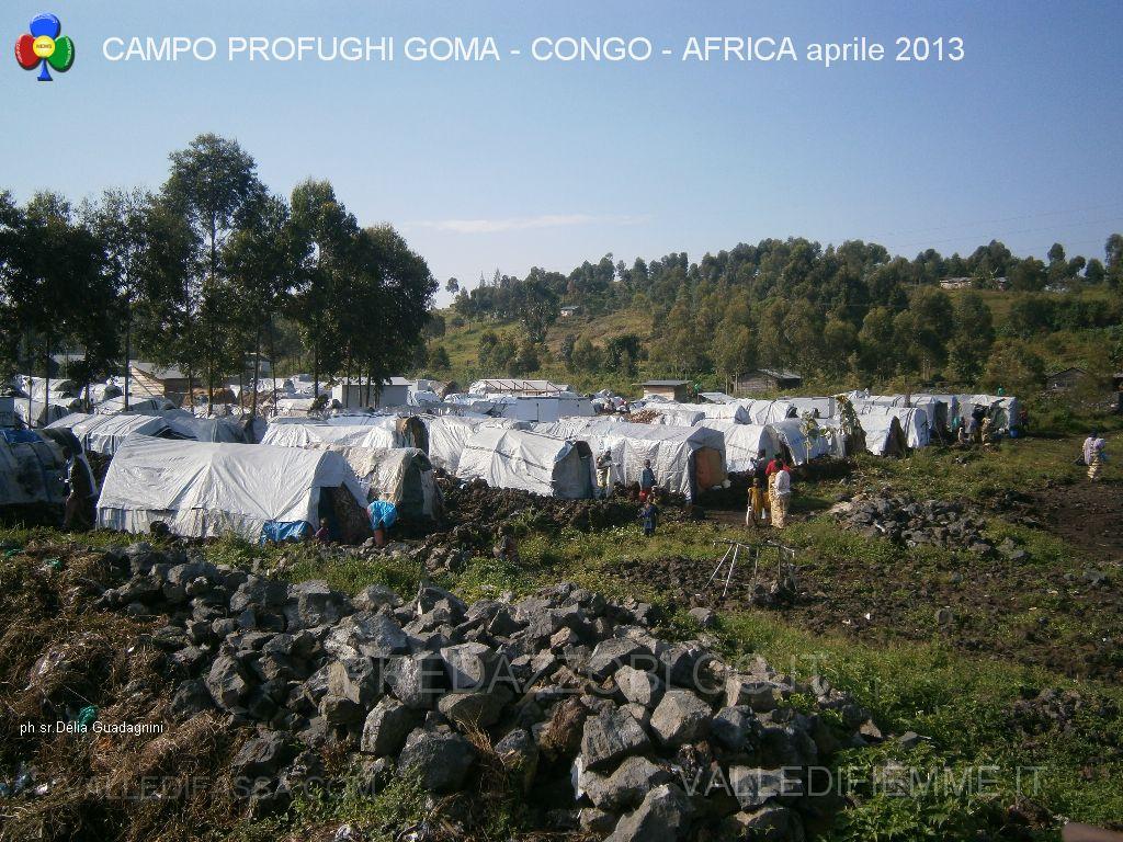 Campo profughi Goma Congo Africa