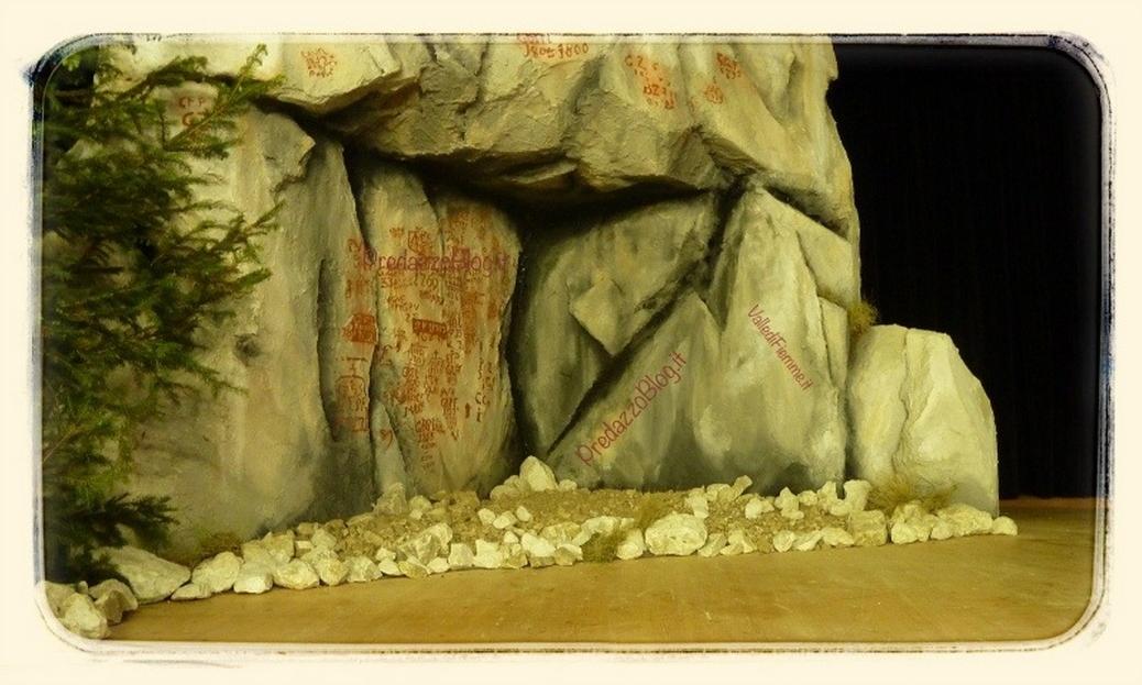 scritte rupestri fiemme predazzo