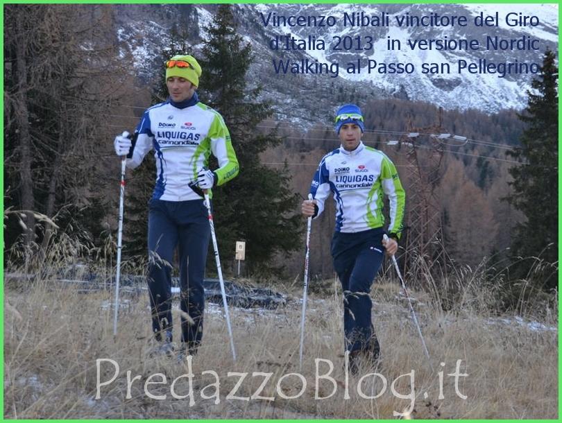 vincenzo nibali maglia rosa giro italia 2013 nordic walking