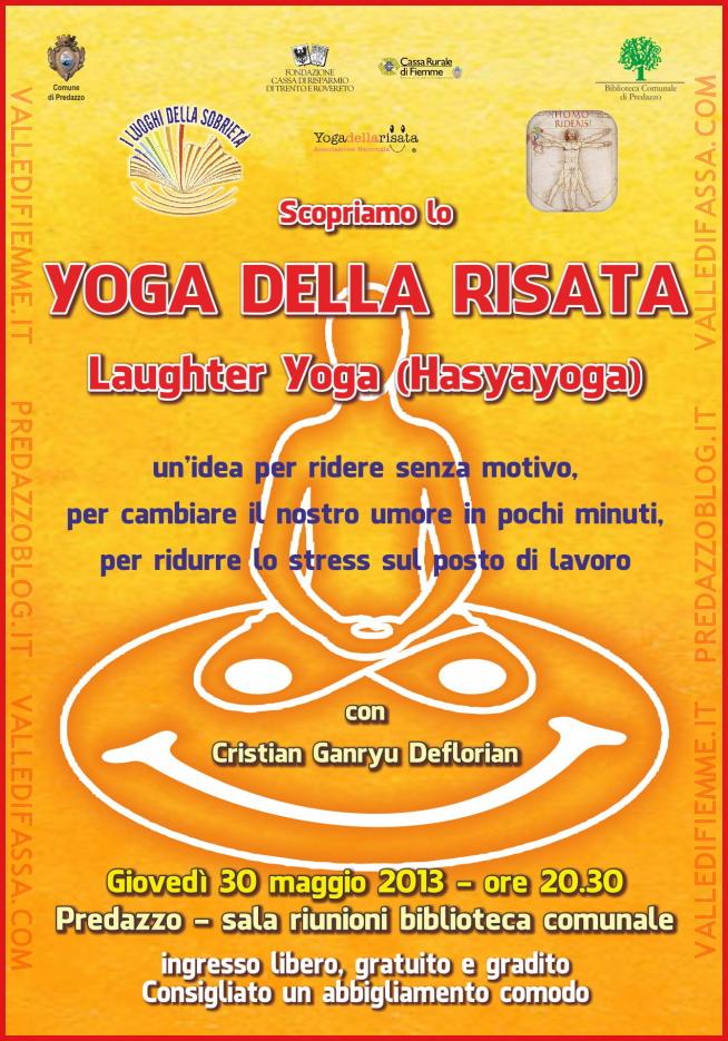 yoga della risata predazzo blog