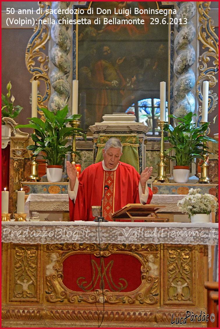 50 anni don luigi boninsegna volpin predazzo bellamonte