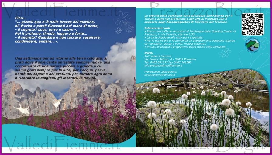 fiori erbe sapori predazzo 1 fiemme 2013 Fiori, erbe e sapori in Valle di Fiemme