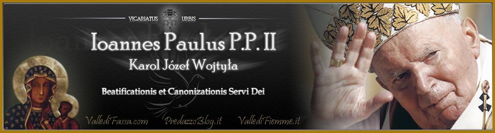 giovanni paolo II beato e santo