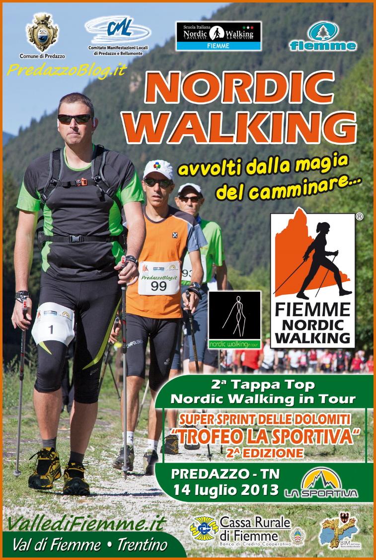 nordic walking fiemme seconda edizione 2013 predazzo blog