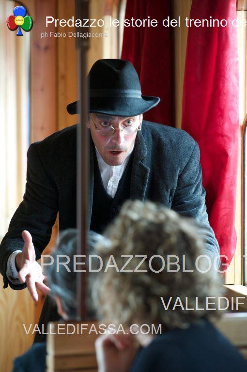 Predazzo le storie del trenino della valle di fiemme2 Predazzo, tutti in carrozza per le storie del trenino della Valle di Fiemme