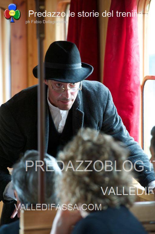 Predazzo le storie del trenino della valle di fiemme5 Predazzo, tutti in carrozza per le storie del trenino della Valle di Fiemme
