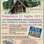 alpini chiesetta valmaggiore predazzo 21 luglio 2013 150x150 180 km di corsa in montagna per l 85° adunata nazionale degli Alpini di Bolzano