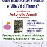 """biblioteca per predazzo1 150x150 """"Le Banche del tempo in Trentino: una  nuova forma di comunità e di rete solidale"""""""