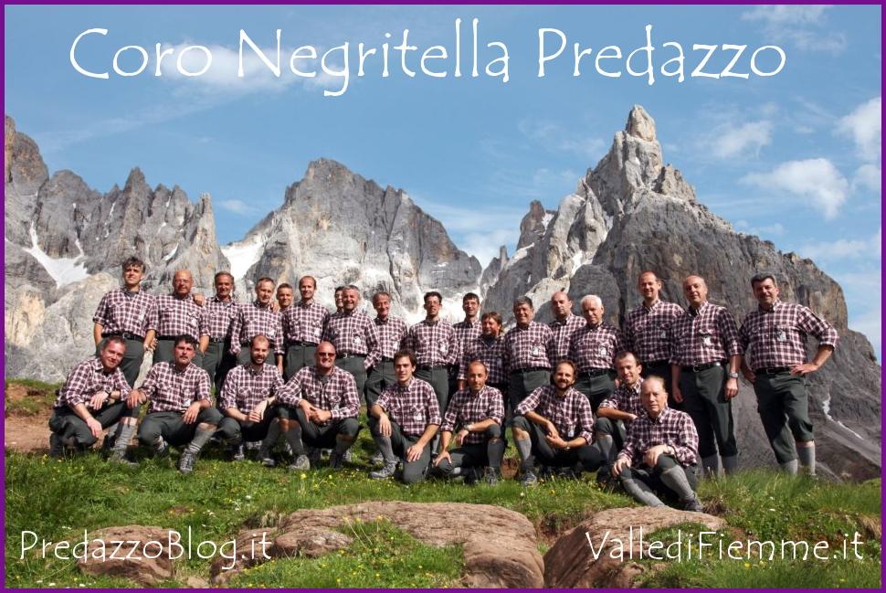 coro negritella predazzo Predazzo, 33° Rassegna di Canti della Montagna   Coro Negritella   Croz Corona   Les Garrigues