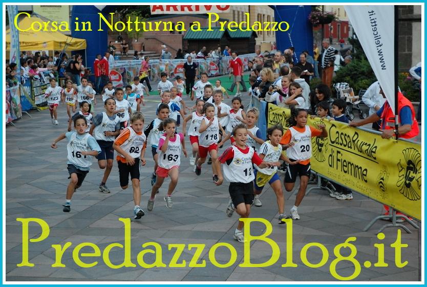 corsa in notturna predazzo blog Predazzo, il tracciato della Corsa in Notturna 2013